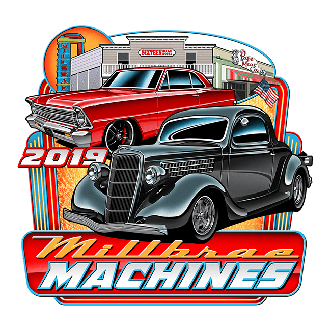 Millbrae Machines 2019 Logo